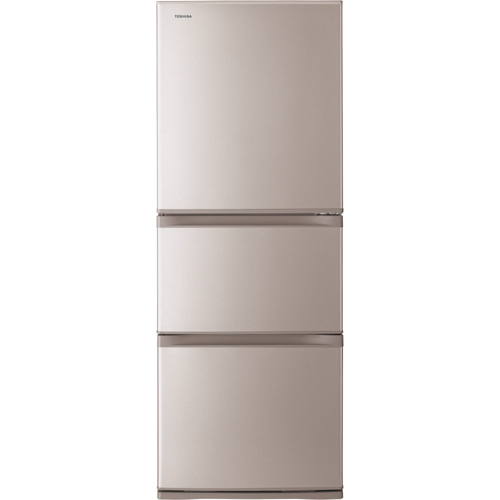 GR-K33S(NP) [VEGETA(ベジータ) 冷凍冷蔵庫 (330L・右開き) 3ドア ピンクゴールド]