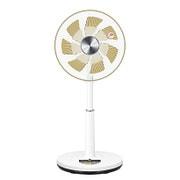 YLX-SED30-CG [DCリビング扇風機 リモコン付き シャンパンゴールド]