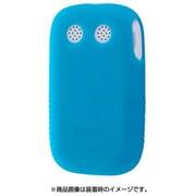 RT-MK4C1/A [みまもりケータイ4 シリコンケース シルキータッチ ブルー半透明]