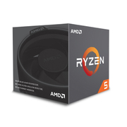 YD1400BBAEBOX [AMD Ryzen 5 1400, with Wraith Stealth 65W cooler CPU]