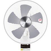 YWX-BGD30(W) [DC壁掛け扇風機 リモコン付き ホワイト]
