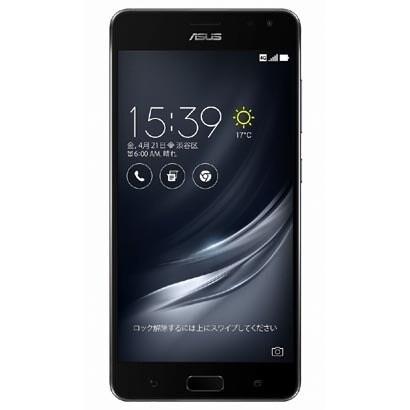 ZS571KL-BK128S8 [ZenFone AR SIMフリースマートフォン 5.7WQHD2560×1440/Android7.0/Qualcomm Snap Dragon 821(2.35GHz)/RAM8GB/eMMC128GB(UFS2.0)/802.11ac/BT4.2/LTE/ブラック]