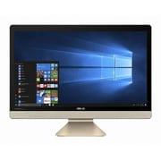 V221IDUK-J3355BLK [Vivo AiO 21.5型ワイドCeleron プロセッサー J3355/メモリ 4GB/HDD 500GB/ドライブレス/Windows 10 Home 64ビット/ブラック]