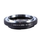KF-FDEF [一眼レフカメラ用 レンズマウントアダプター ブラック ボディ側:キヤノンEF レンズ側:キヤノンFD]