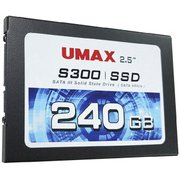 S300TL240K [UMAX SSD TLC S300 240GB BLACK]
