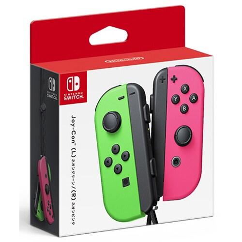 Nintendo Switch専用 Joy-Con (L) ネオングリーン/(R) ネオンピンク
