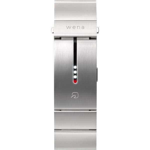 WN-WB01S [wena wrist(ウェナ リスト) Silver]