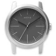 WN-WT01S-H [wena wrist(ウェナ リスト)用ヘッド Three Hands Silver Head]