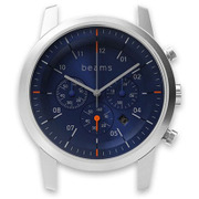 WN-WC02S-H [wena wrist(ウェナ リスト)用ヘッド Chronograph Silver beams edition Head]