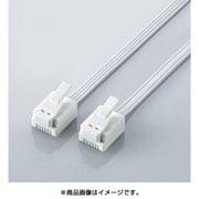MJ-T10WH [モジュラーケーブル 爪折れ防止 10m ホワイト]