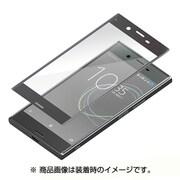 PG-XZPGL08 [Xperia XZ Premium用 3D全面保護液晶保護ガラス スーパークリアブラック]