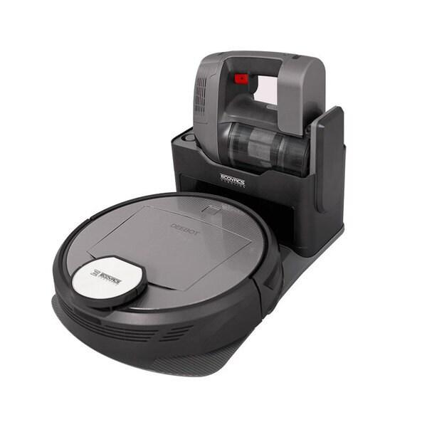 DR98 [床用ロボット掃除機 DEEBOT R98 コードレスハンディ掃除機搭載 チタンブラック]