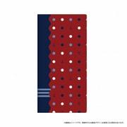 LP-GS8LD026 [Galaxy S8 薄型デザインPUレザーケース 「Design+」 マリン 水玉]