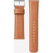 WC-22E0N/T [腕時計用レザーバンド wena wrist leather 対応ラグ幅22mm タウニーブラウン]