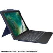 iK1092BLA [iPad Pro 10.5インチ 2017年モデル対応 SLIM COMBO iK1092 Smart Connector テクノロジー搭載 取り外し可能バックライトキーボード付きケース ブルー]