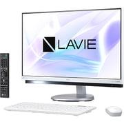 PC-DA770HAW [LAVIE Desk All-in-one DA770/HAシリーズ/23.8型ワイド/Core i7-7500U(2.7GHz)/メモリ 8GB/HDD 3TB/ブルーレイドライブ/Windows 10 Home 64ビット(Creators Update適用済み)/office H&B Premium プラス Office 365 サービス/ホワイト]