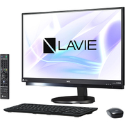 PC-DA770HAB [LAVIE Desk All-in-one DA770/HAシリーズ/23.8型ワイド/Core i7-7500U(2.7GHz)/メモリ 8GB/HDD 3TB/ブルーレイドライブ/Windows 10 Home 64ビット(Creators Update適用済み)/office H&B Premium プラス Office 365 サービス/ブラック]