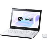 PC-NS700HAW [LAVIE Note Standard NS700/HAシリーズ/15.6型ワイド/Core i7-7500U(2.7GHz)/メモリ 8GB/HDD 1TB/ブルーレイドライブ/Windows 10 Home 64ビット(Creators Update適用済み)/office H&B Premium プラス Office 365 サービス/ホワイト]