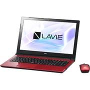 PC-NS150HAR-YC [LAVIE Note Standard NS150/HAR-YC/15.6型ワイド/Celeron-3865U(1.8GHz)/メモリ 4GB/HDD 1TB/DVDスーパーマルチ/Windows 10 Home 64ビット(Creators Update適用済み)/office H&B Premium プラス Office 365 サービス/レッド/ヨドバシオリジナル]