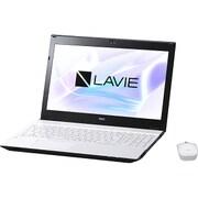 PC-NS350HAW-YC [LAVIE Note Standard NS350/HAW-YC/15.6型ワイド/Core i3-7100U(2.4GHz)/メモリ 8GB/HDD 1TB/ブルーレイドライブ/Windows 10 Home 64ビット(Creators Update適用済み)/office H&B Premium プラス Office 365 サービス/ホワイト/ヨドバシオリジナル]