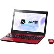 PC-NS350HAR-YC [LAVIE Note Standard NS350/HAR-YC/15.6型ワイド/Core i3-7100U(2.4GHz)/メモリ 8GB/HDD 1TB/ブルーレイドライブ/Windows 10 Home 64ビット(Creators Update適用済み)/office H&B Premium プラス Office 365 サービス/レッド/ヨドバシオリジナル]