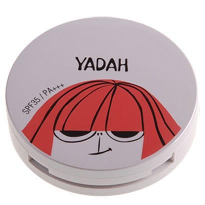 YD-AP-19 YADAH(ヤダー) エア パウダーパクト 19 ライトベージュ [パウダーファンデーション]