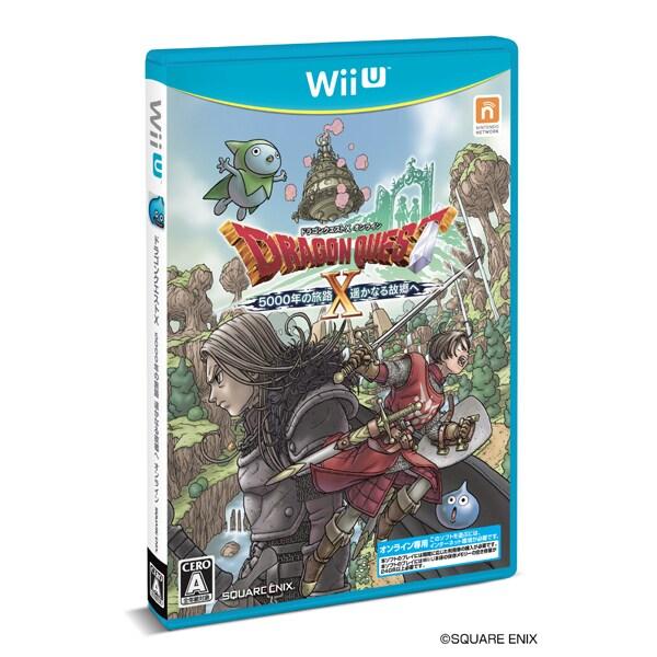 ドラゴンクエストX オンライン 5000年の旅路 遥かなる故郷へ [WiiUソフト]