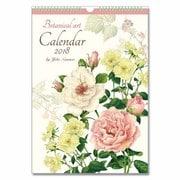 CAL-012 [ボタニカルアートカレンダー Lサイズ 2018年版]