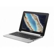 C101PA-OP1 [Chromebook Flip C101PA /10.1WXGA 1280×800(Touch グレア)/OP1 Hexa-core/メモリ 4GB/16GB eMMC/ドライブレス/Chrome OS/シルバー]