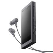 NW-A46HN B [ポータブルオーディオプレーヤー Walkman(ウォークマン) A40シリーズ  32GB 専用ヘッドホン付 グレイッシュブラック]