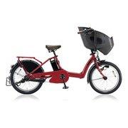 bikke POLAR e(ビッケ ポーラーe) T.レトロレッド 低サドル安定モデル [電動アシスト自転車 2018年モデル 前後20型タイヤサイズ 内装3段変速 12Ahバッテリー 3P84AF0 BP0D38]