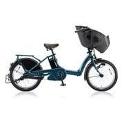 bikke POLAR e(ビッケ ポーラーe) T.レトロブルー 低サドル安定モデル [電動アシスト自転車 2018年モデル 前後20型タイヤサイズ 内装3段変速 12Ahバッテリー 3P84AG0 BP0D38]