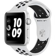 Apple Watch Series 3 Nike+ (GPS) - 42mm シルバーアルミニウムケース と ピュアプラチナ/ブラックNikeスポーツバンド [MQL32J/A]