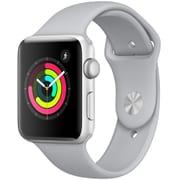 Apple Watch Series 3 (GPS) - 42mm シルバーアルミニウムケース と フォッグスポーツバンド [MQL02J/A]