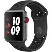 Apple Watch Series 3 Nike+ (GPS + Cellularモデル) - 42mm スペースグレイアルミニウムケース と アンスラサイト/ブラックNikeスポーツバンド [MQMF2J/A]