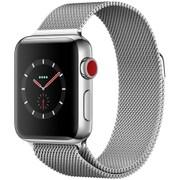 Apple Watch Series 3 (GPS + Cellularモデル) - 38mm ステンレススチールケース と ミラネーゼループ [MR1N2J/A]