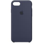 iPhone 8/iPhone 7 シリコーンケース - ミッドナイトブルー