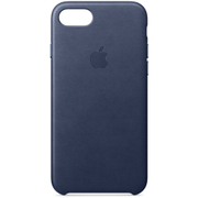 iPhone 8/iPhone 7 レザーケース - ミッドナイトブルー