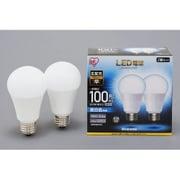 LDA14N-G-10T52P [LED電球 E26口金 広配光タイプ 100形相当 昼白色 密閉器具対応 2個セット]