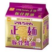 マルちゃん正麺 豚骨醤油 5P