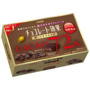チョコレート効果72% 粗くだきカカオ豆 40g