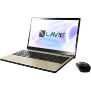 PC-NX850JAG [LAVIE Note NEXT NX850/JAG 15.6型ワイド/Core i7-8550U/メモリ8GB/SSD 128GB + HDD 1TB/ブルーレイディスクドライブ/Windows 10 Home 64ビット/Office H&B Premium プラス Office 365 サービス/グレイスゴールド]