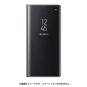 EF-ZN950CBEGJP [Galaxy Note8 ケース CLEAR VIEW STANDING COVER ブラック ]