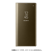 EF-ZN950CFEGJP [Galaxy Note8 ケース CLEAR VIEW STANDING COVER ゴールド ]