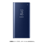 EF-ZN950CNEGJP [Galaxy Note8 ケース CLEAR VIEW STANDING COVER ブルー ]