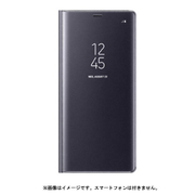 EF-ZN950CVEGJP [Galaxy Note8 ケース CLEAR VIEW STANDING COVER グレイ]