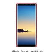 EF-XN950APEGJP [Galaxy Note8 ケース ALCANTARA COVER ピンク]