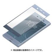 PG-XZ1GL01 [Xperia XZ1用 3D全面液晶保護ガラス ブルーフレーム]