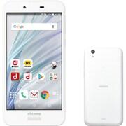AQUOS sense SH-01K(W) シルキーホワイト [スマートフォン]