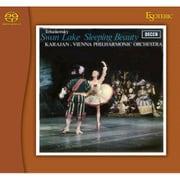 ESSD-90171 [Super Audio CDハイブリッドソフト チャイコフスキー:3大バレエ~(白鳥の湖)(くるみ割り人形)(眠れる森の美女)組曲 ヘルベルト・カラヤン(指揮) ウィーン・フィルハーモニー管弦楽団]